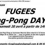 FUGEES Ping Pong Day
